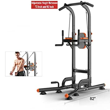 975968f6d0 Pull Up Chin Up Station Power Tower Sturdy Chin-Up Bar Stand Dip Station