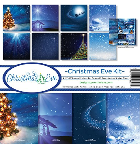 Reminisce CE-200 Christmas Eve Scrapbook Collection Kit