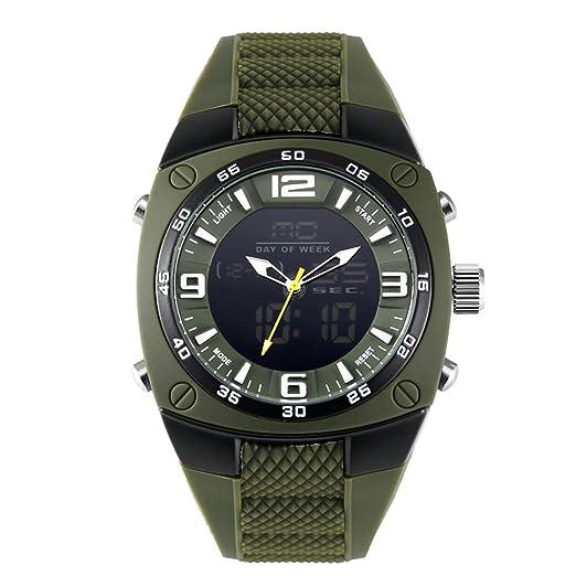 Todos los relojes digitales negros Chrono Small para hombres Boys Calendarios digitales: Amazon.es: Relojes
