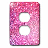 Sven Herkenrath Glitter - Luxury Diamond Glitter Sparkly - Light Switch Covers - 2 plug outlet cover (lsp_252119_6)