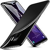 ESR Cover per Samsung Galaxy S9 [Supporta la Ricarica Wireless], Custodia Opaca Morbida di TPU [Anticaduta, Antiscivolo, AntiGraffio] per Samsung Galaxy S9.(Nero)