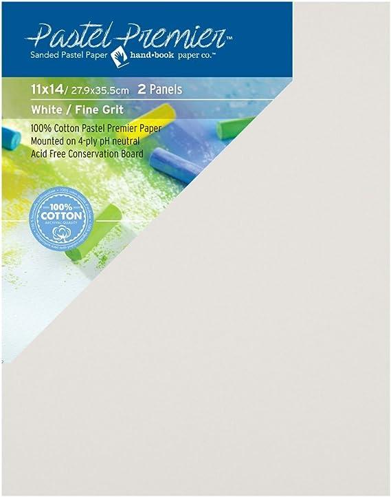 White 26x40 5 Sheet Pack Pastel Premier Sanded Pastel Paper Sheets Fine Grit