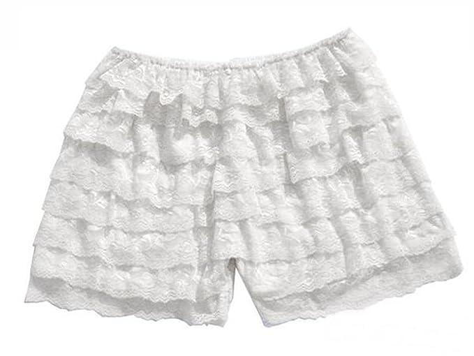 8 capas ropa interior con volantes lazo short pantalones sexy falda: Amazon.es: Ropa y accesorios