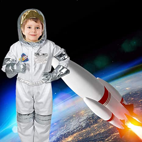 Luerme Disfraz de astronauta de Halloween para niños Disfraz de ...