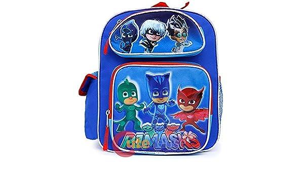 Mochila pequeña - PJ máscaras - Catboy, Owlette Gekko azul bolso de escuela nueva 137735: Amazon.es: Juguetes y juegos