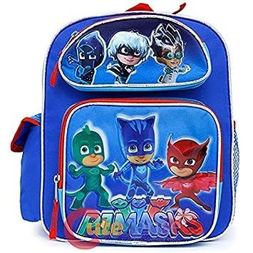 Mochila pequeña – PJ máscaras – Catboy, Owlette Gekko azul bolso de escuela nueva 137735