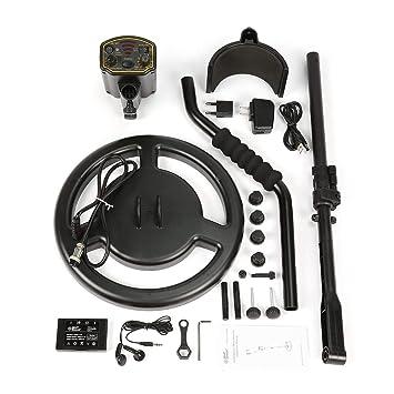 LoveOlvidoE Smart Sensor AR944M Detector de Metales subterráneo Profesional Buscador de Plata Dorada Ajustable Buscador de rastreadores de Tesoros ...