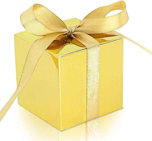 Amazon.com: KPOSIYA 100 cajas de regalo de 2.0 x 2.0 x 2.0 ...