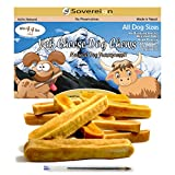 Himalayan Yak Dog Chews - All Natural Churpi Yak Chews - Yak Cheese Snack Treats for Dogs - Puppy Chew From Yak Milk In Himalayan Mountains - Long Lasting Bulk Chews For All Dogs - 4.4lbs 2kg