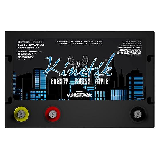 Amazon.com: HC16V 1600 Watt Car Audio Battery for Hifonics ZEX3350.1D ZEUS ELITE: Electronics
