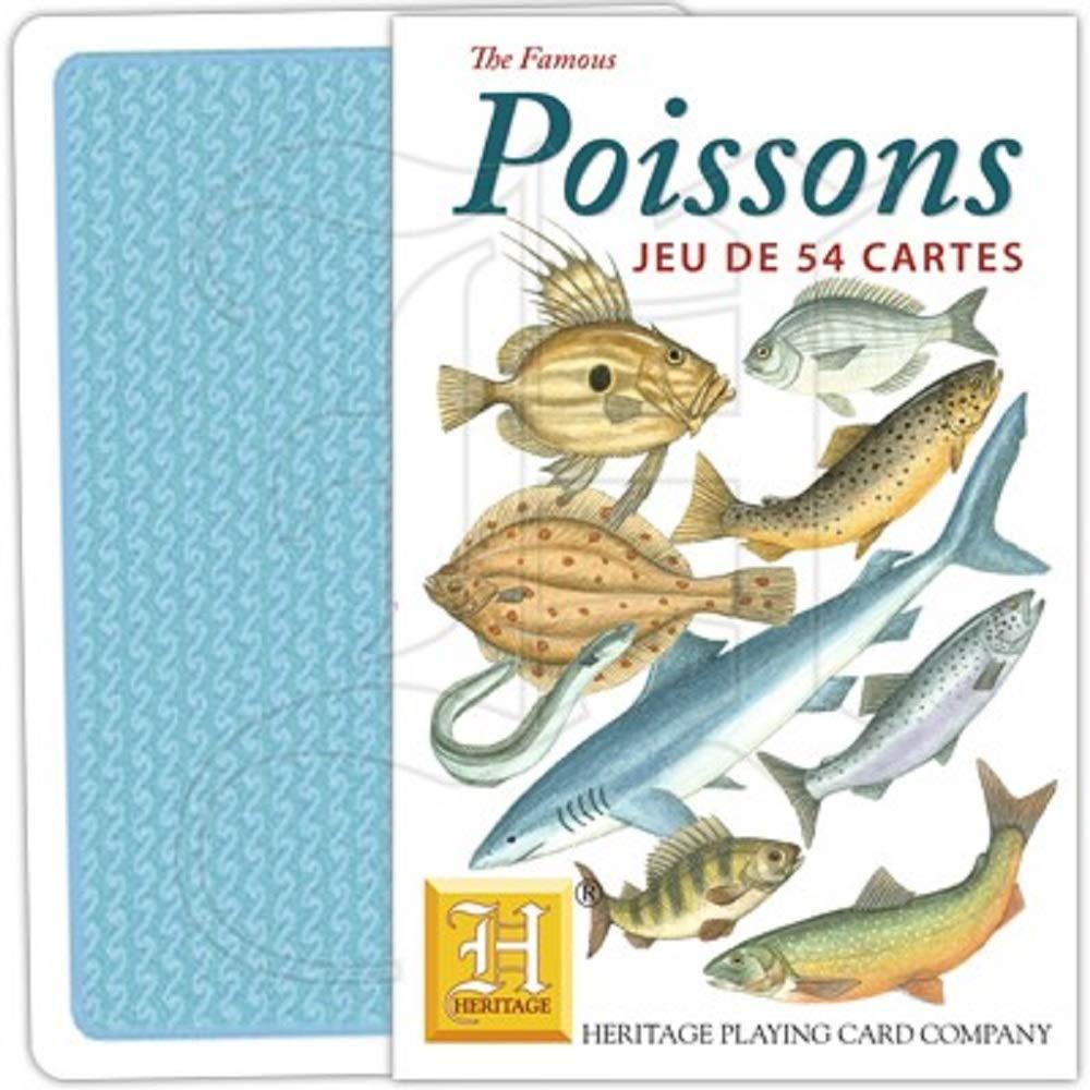 Heritage Playing Cards. Fish. Fresh Water & Sea. [Toy] by Heritage Playing Cards