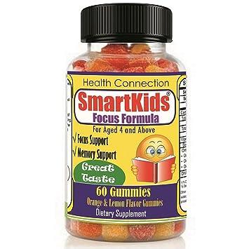 Amazon Com Smartkids Brain Focus Memory Formula Gummies Kids