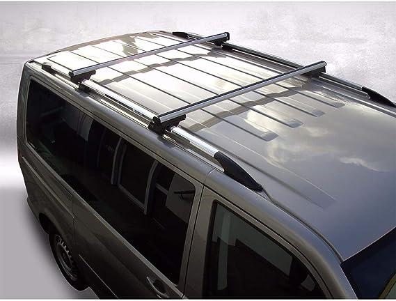 Dachträger Passend Für Vw Caddy Und Caddy Maxi Dachgepäckträger In Aluminium Chrom 110 Cm Auto