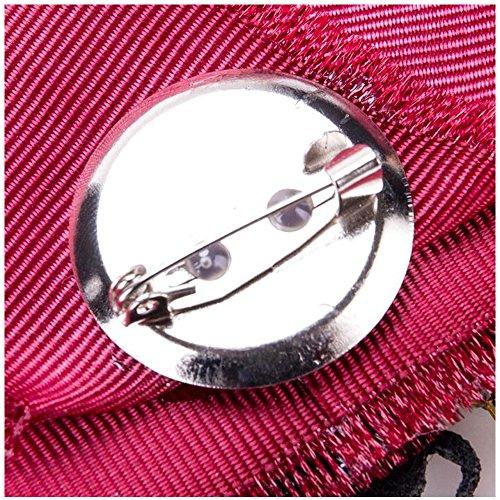 Femmina Collare 5 Arco Pin Spilla Nastro Le Per E Donne 1Z8PBa