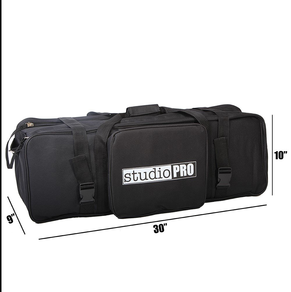 Fovitec StudioPRO 30 Inch On Location Carry Bag for Photography, Video & Film Lighting Equipment - Carry Case for Light Stands and Equipment by Fovitec (Image #2)