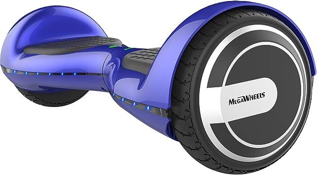 """MEGAWHEELS 6.5/"""" Smart Hoverboard Scooter E-Skateboard Monopattino Elettrico 10km"""