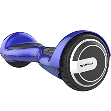 M MEGAWHEELS Patinete electrico, 6.5 Pulgadas con Bluetooth - 500W Motor Monopatin Electrico Self Balance Scooter.