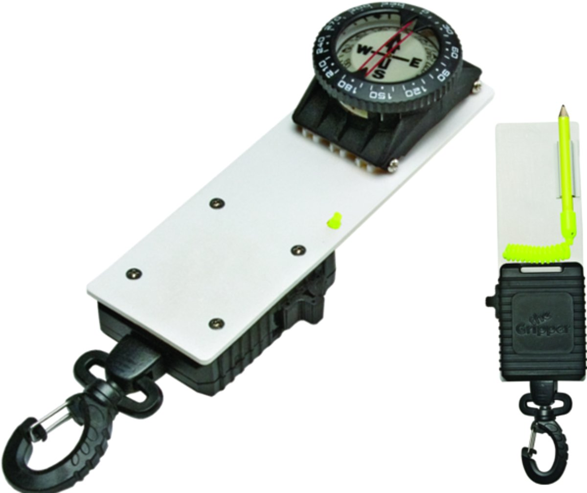 最先端 Compass Slate Jr. with Gripper Scuba Jr. Retractor Retractor - Practical! by Innovative Scuba Concepts B001N4IB0I, 布生地専門イワキ:3330a19c --- senas.4x4.lt