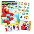 "Sesame Street Elmo Potty Training Book Set -- 2 Books (""Potty Time Songs"" Sing Along Book, Potty Time Coloring and Activity Book with Potty Chart, Reward Stickers and Checklist)"