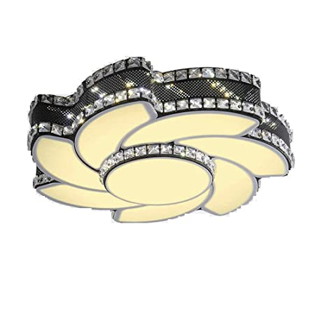 Modern K9 Crystal Decoracion 24W LED Luz de Techo Dormitorio LED ...