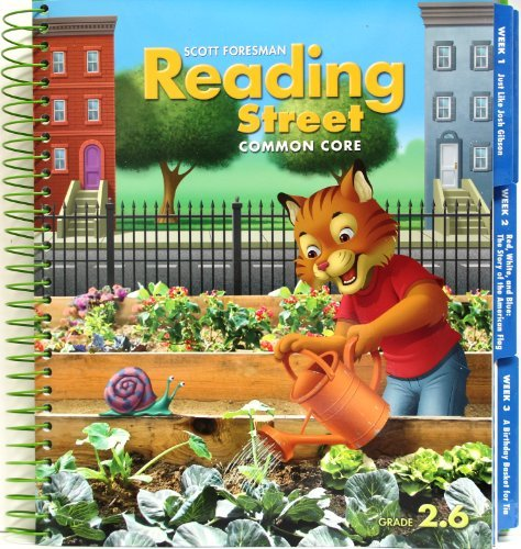 Scott Foresman Reading Street Common Core, Grade 2, Teacher's Edition, Vol. 2.6