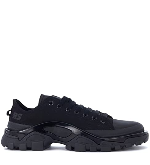 cb3bbf137cb4 adidas by Raf Simons Man s Adidas X RAF Simons Detroit Black Canvas  Sneakers  Amazon.ca  Shoes   Handbags