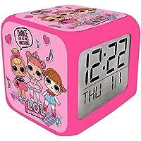 Lol Surprise - Reloj Despertador Digital