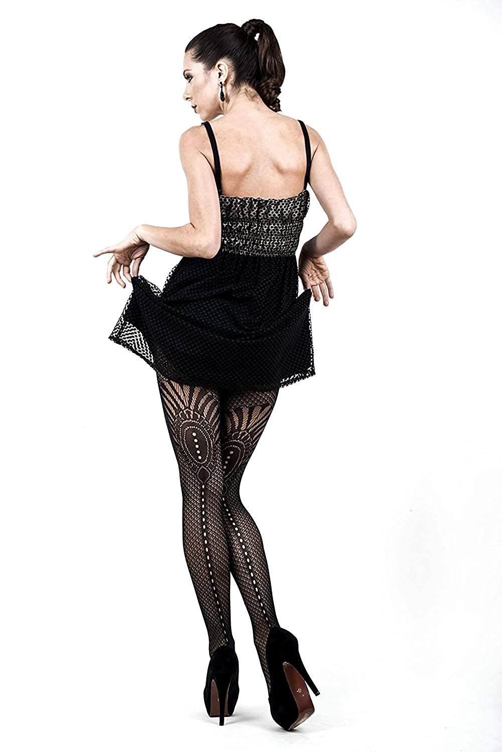 Steampunk Costume Essentials for Women Yelete Killer Legs Womens One/Plus Size Patterned Fishnet Tights Stocking Pantyhose $9.99 AT vintagedancer.com