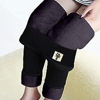 ZASUN 1 leggins de cachemira supergruesos para mujer, leggings con forro polar para mujer, cálidos de invierno, de felpa…
