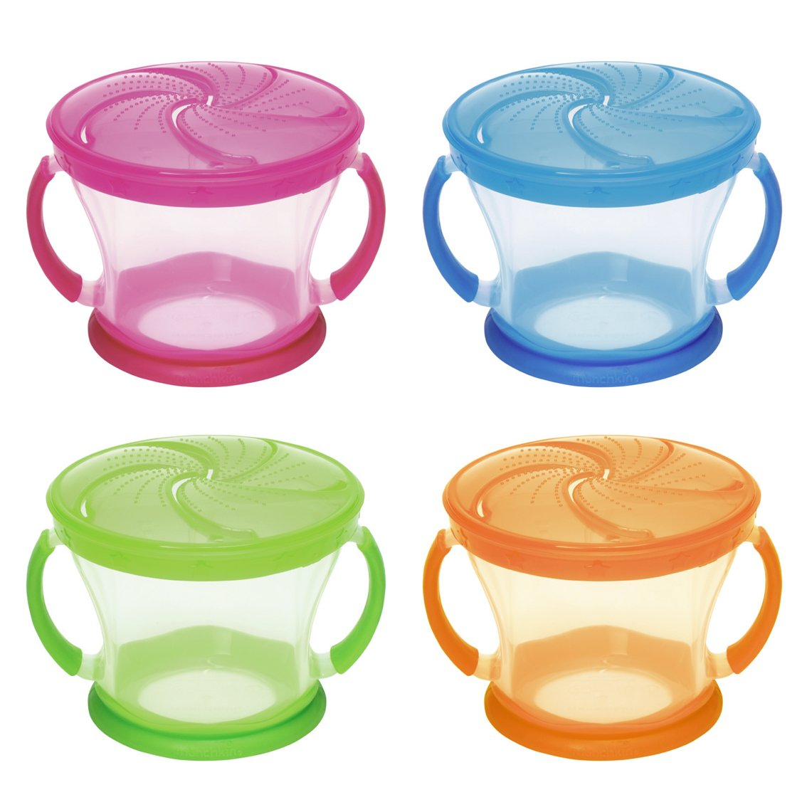 Munchkin Snack Container with Twist-On, Stay Put Lid - Assorted Colours 011401