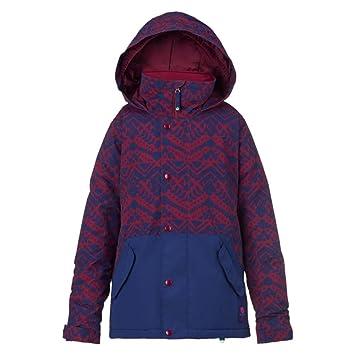 Burton Chaqueta Echo de Snowboard para Mujer, niña, Snowboardjacke Echo Jacket, Sngria Wlby SP/Splbd: Amazon.es: Deportes y aire libre