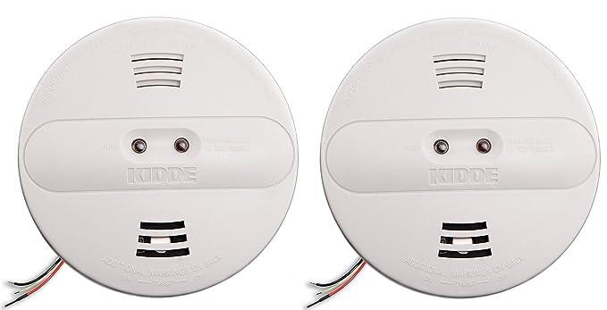 Kidde pi2010 Hardwired Dual ionización y sensor fotoeléctrico de humo alarma con respaldo de batería: Amazon.es: Bricolaje y herramientas