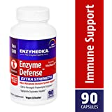 Enzymedica - Enzyme Defense Extra Strength, Most Advanced Immune System Support, 90 Capsules