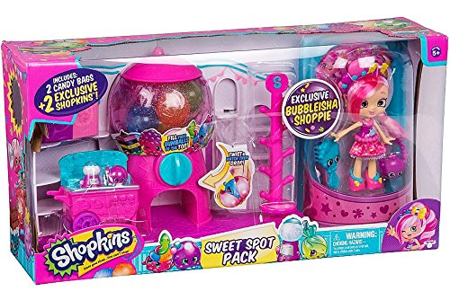 Shopkins Shoppies Sweet Spot Gumball Pack w/ Exclusive