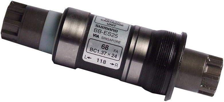 SHIMANO Eje pedalier 68/118 mm BB-ES 300,BSA Octalink: Amazon.es ...