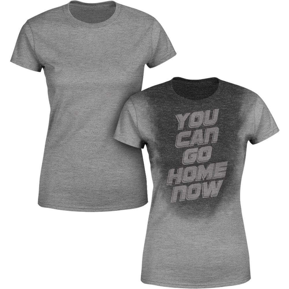 Sweat Activated Women's Gym Shirt | You Can Go Home Now | Fitness Workout Actizio