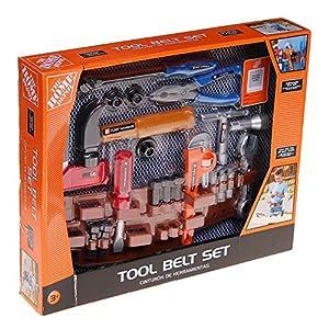 the home depot 25 piece toy tool belt set toys games. Black Bedroom Furniture Sets. Home Design Ideas