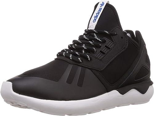 : adidas Mens Tubular Runner BlackBrown 8.5