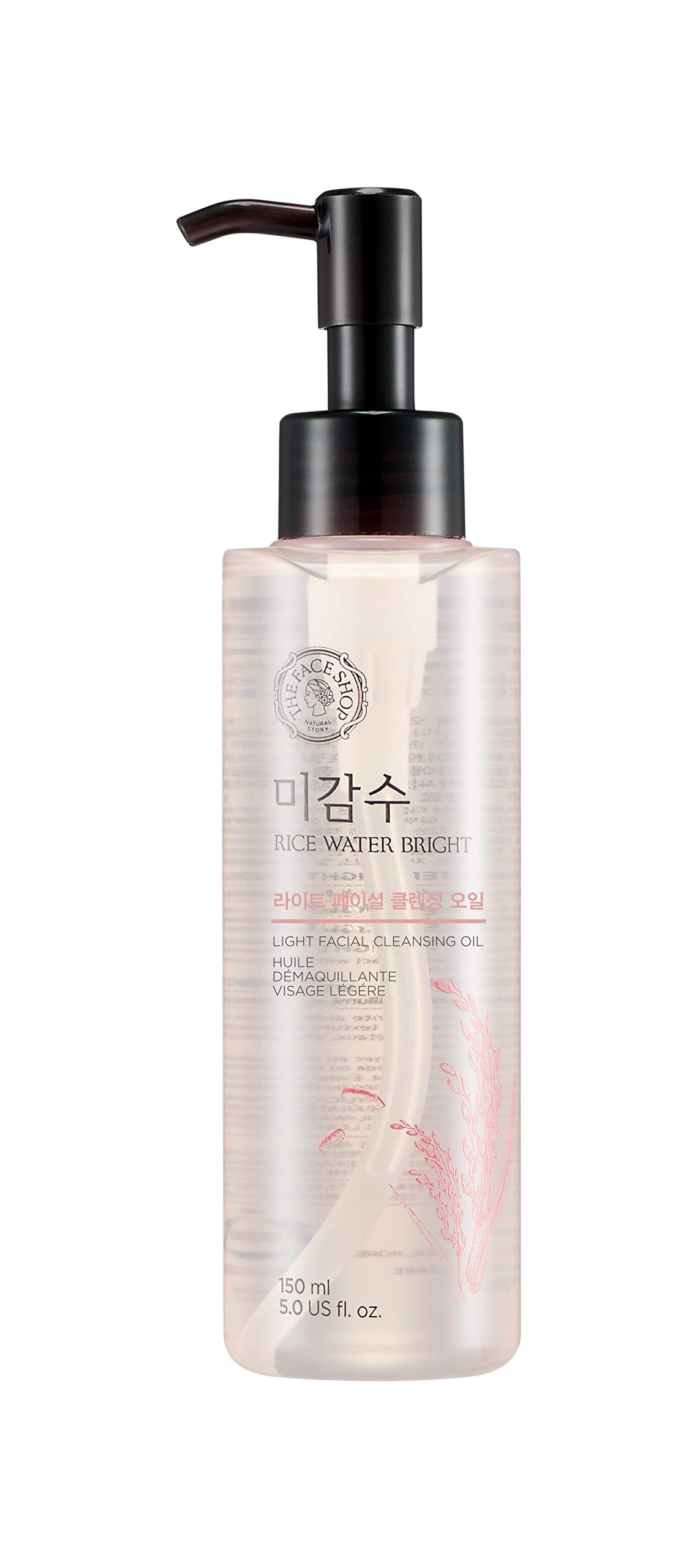 THE FACE SHOP Rice Water Bright Rich Cleansing Light Oil
