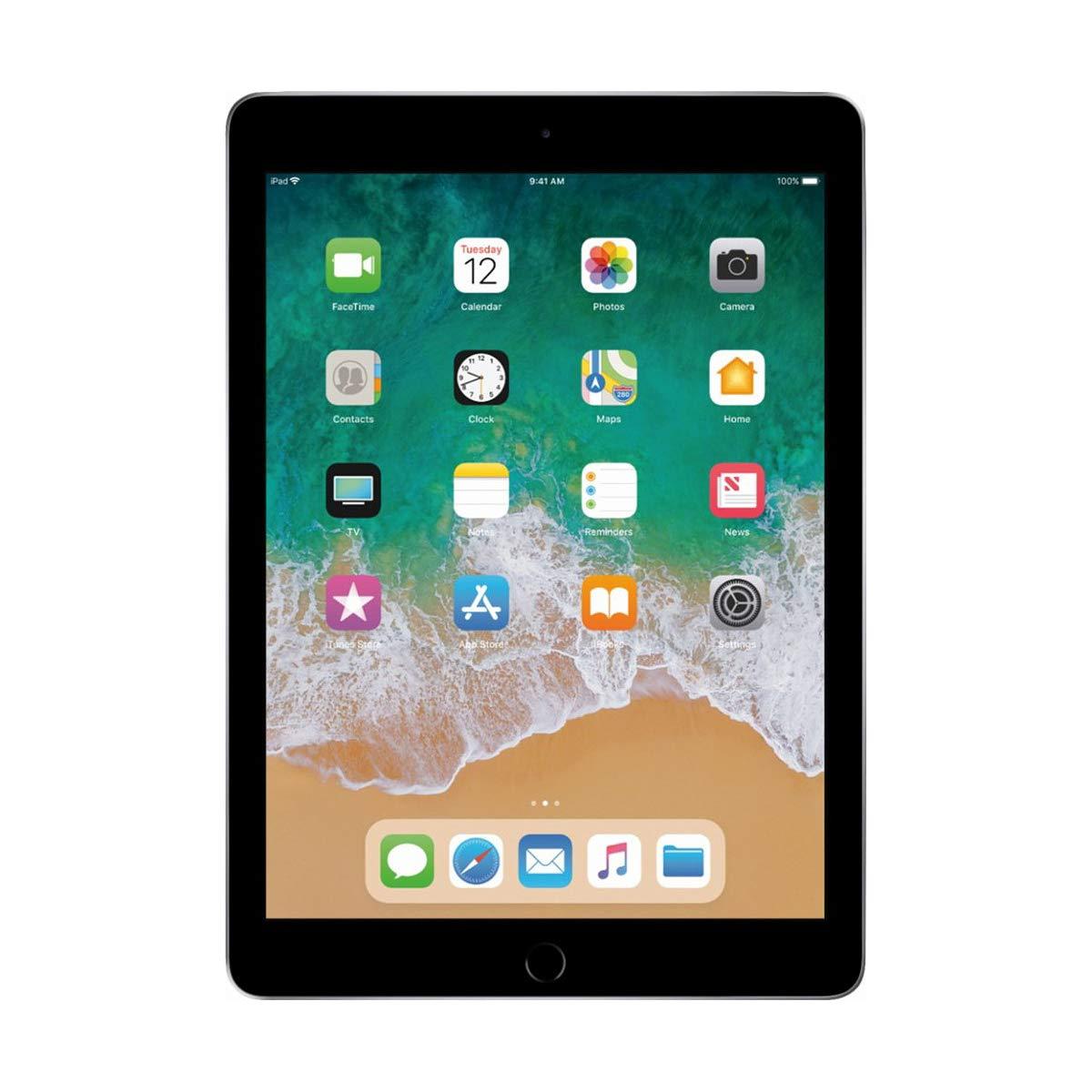 Tablets  Apple  Apple iPad  9.7 2048 x 1536 (Retina)  WI-FI   32GB, 8mp+1.2mp,A1893  -ZKMR7F2RKA Space Grey ipad 2018