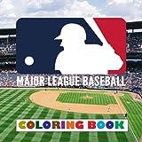 Major League Baseball Coloring Book: Super coloring book containing every logo from MLB - Original birthday present…