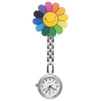Nurses Fob Watch Medical Pocket Quartz Watches With Clip On Brooch Hanging Novelty