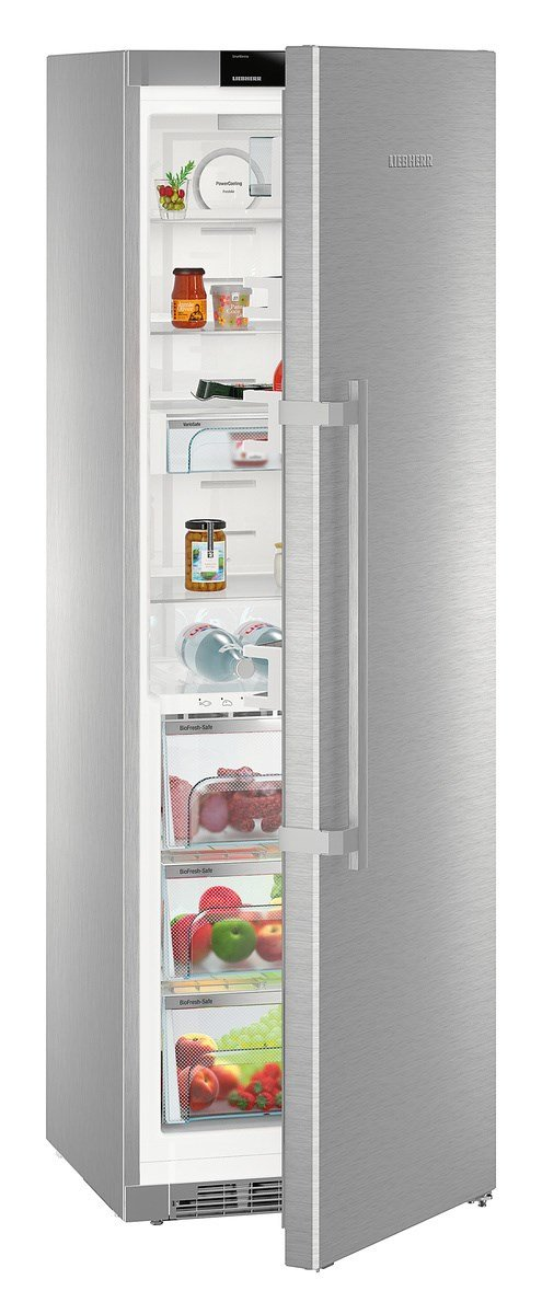 Liebherr KBES 4350 Premium BioFresh Freestanding 367L A + + + Stainless  Steel   Fridge (Freestanding, Stainless Steel, Right, Touch, TFT, ... Nice Ideas