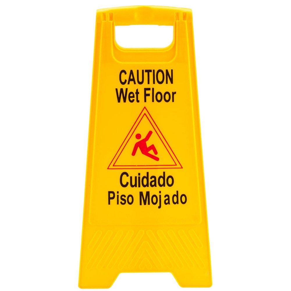 Precaución por suelo mojado cartel: Amazon.es: Amazon.es