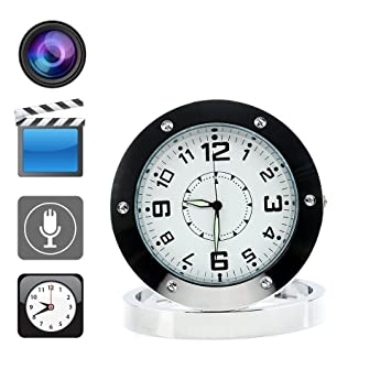 Reloj espía de Boriyuan, kit de seguridad con cámara oculta, grabador de vídeo, cámara, sonido y detección de movimiento: Amazon.es: Bricolaje y ...