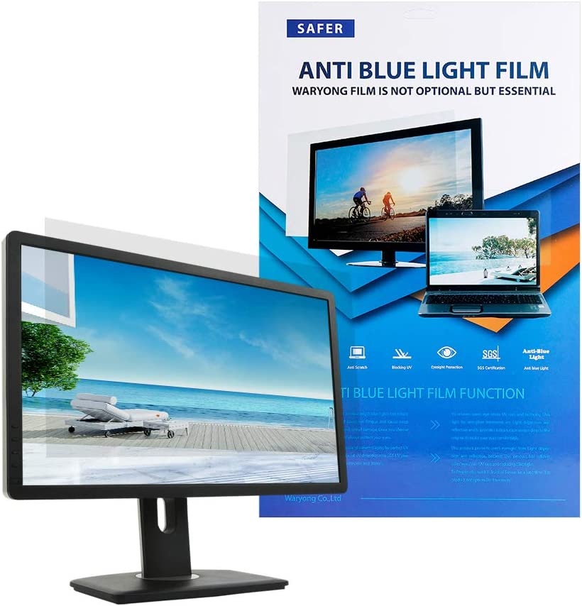 Waryong Blue light blocking screen film for 17 inch – Laptop Screen protector/filter film Type