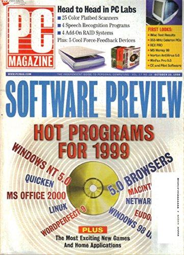 Celeron Single - PC Magazine, Vol. 17, No. 18 (October 20, 1998)