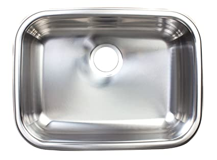 Kindred fsug100 18bx single bowl under mount kitchen sink stainless kindred fsug100 18bx single bowl under mount kitchen sink stainless steel workwithnaturefo