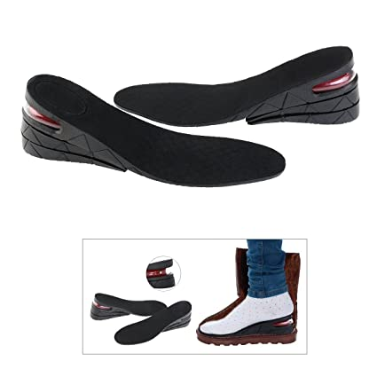 1433d72c6ba44 PIXNOR Height Increase Elevator Shoes Insoles 7cm PU Air Cushion ...