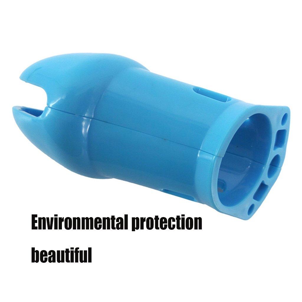 SYXL Dispositivo Azul de castidad de los Hombres Azul Dispositivo Silicona Long CB Caged Lock Pene Prevention Sex Adult Toys (10 * 3.8cm) (Tamaño : 10 * 3.8cm) 58ed05